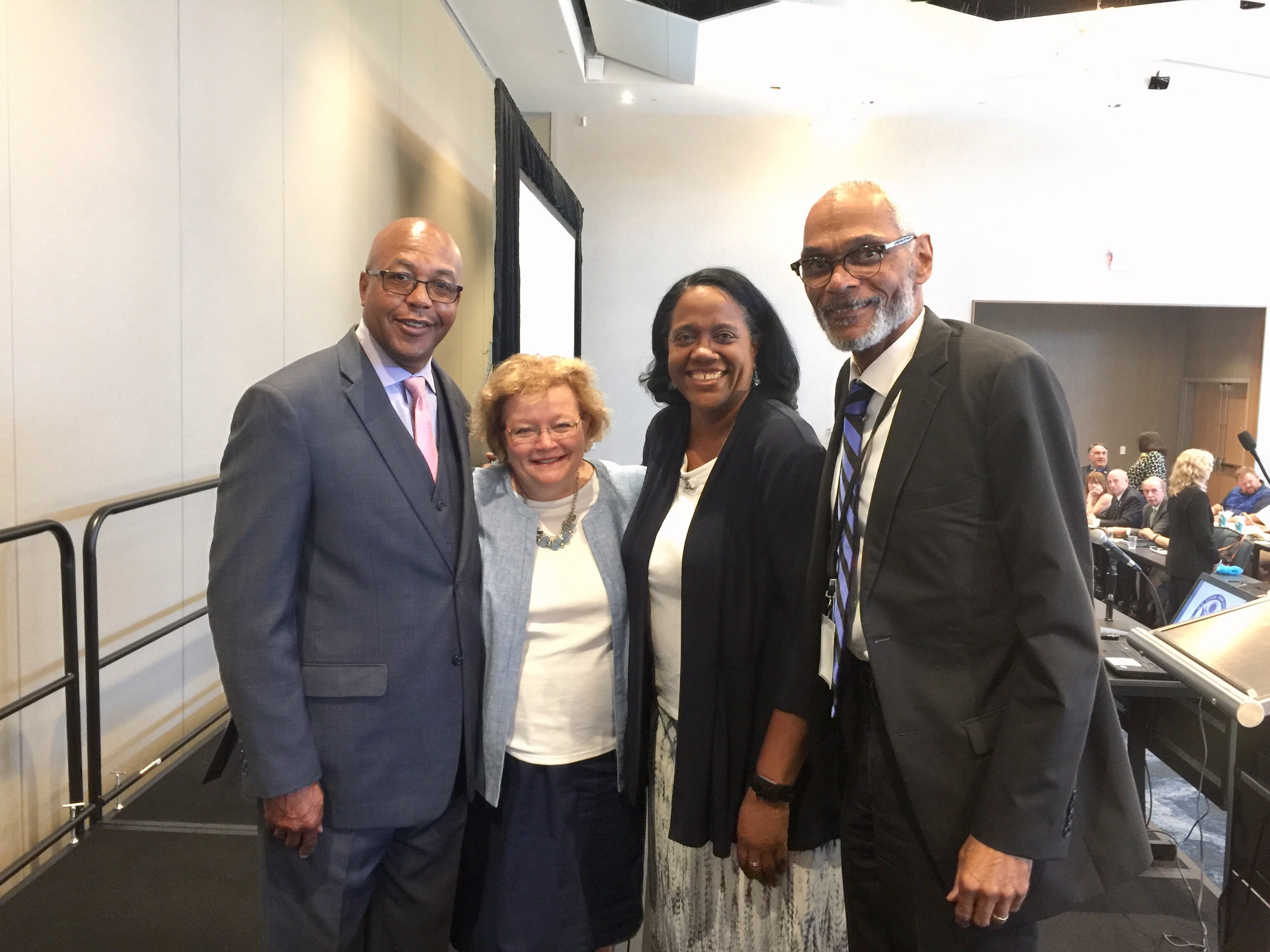Photo of OCRC Executive Director, Chair, and EEOC leadership