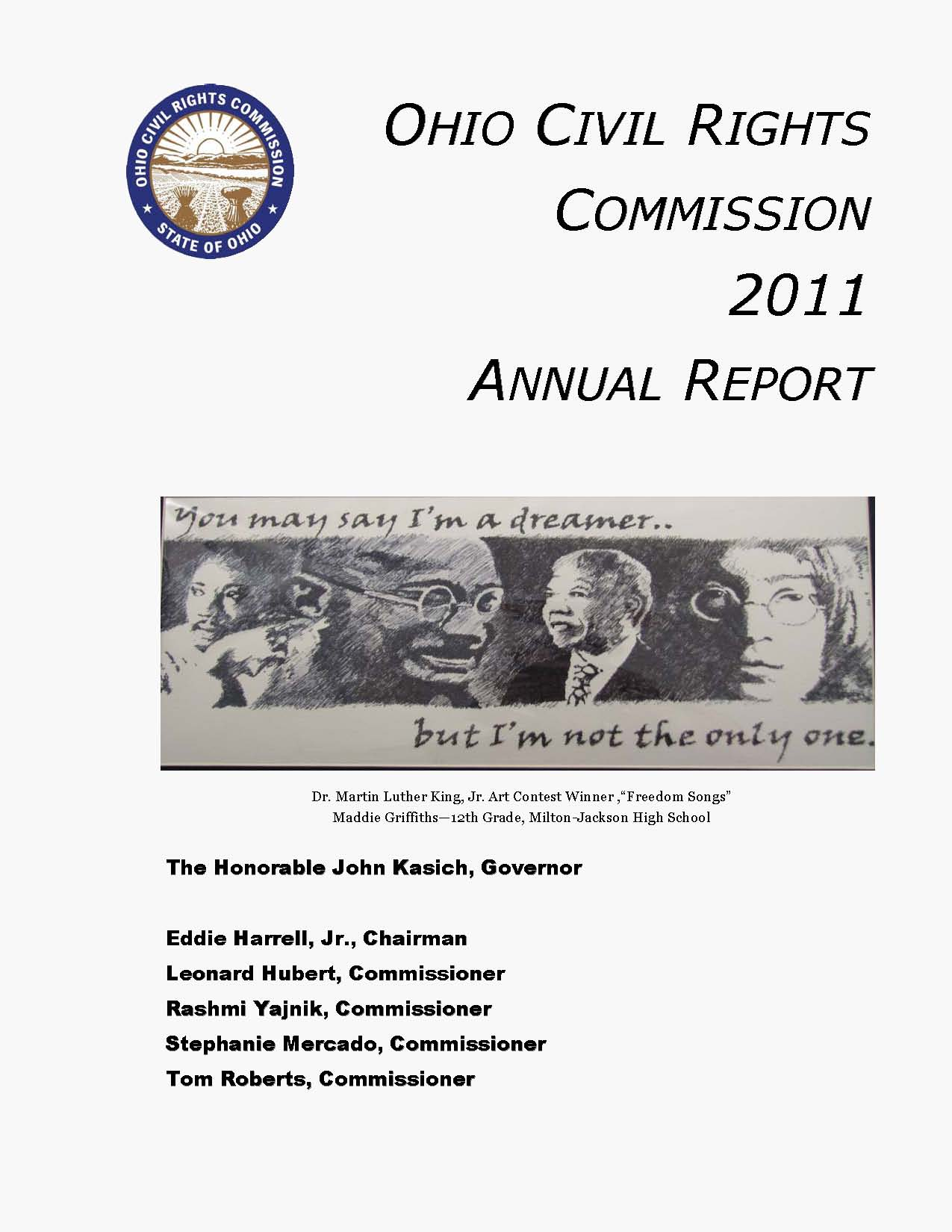 Cover of 2011 Annual Report