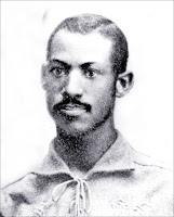 old black and white photograph of Moses Fleetwood Walker