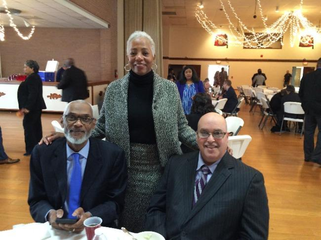 photo of OCRC employees at West Virginia Civil Rights Celebration