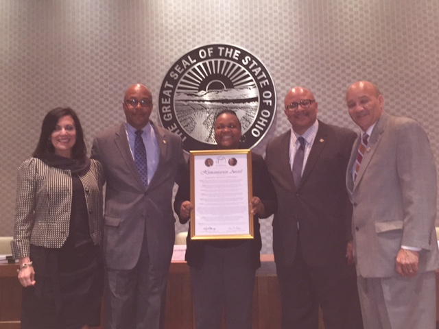 Photo of Commissioners with Regional Director Darlene Newbern